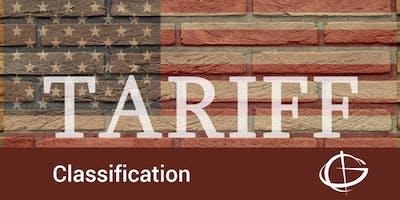 Tariff Classification Seminar in Charlotte