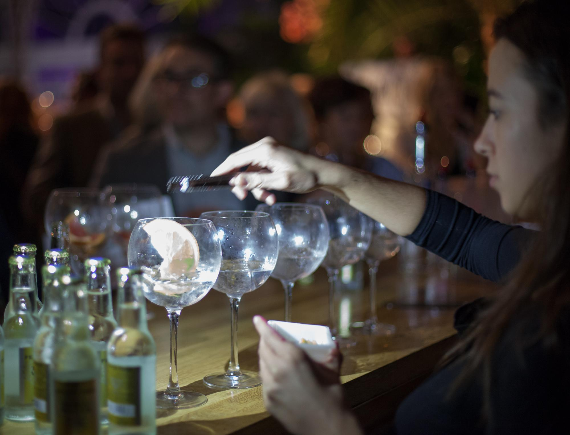 Gin Party at the Bombed Out Church, August 20