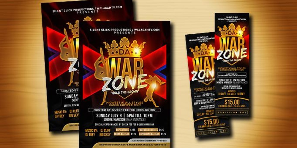"DA WARZONE 'HOLD THE CROWN"" DANCE BATTLE COMPETITION Tickets, Sun, Jul 9, 2017 at 4:00 PM 