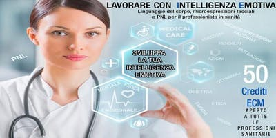 Lavorare con Intelligenza Emotiva in Sanità-Roma