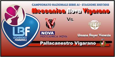Meccanica Nova Vigarano vs Umana Reyer Venezia