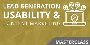 Online Lead Generation, Usability & Content Marketing...