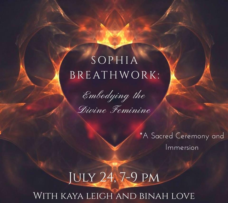 Sophia Breathwork: Embodying the Divine Femin