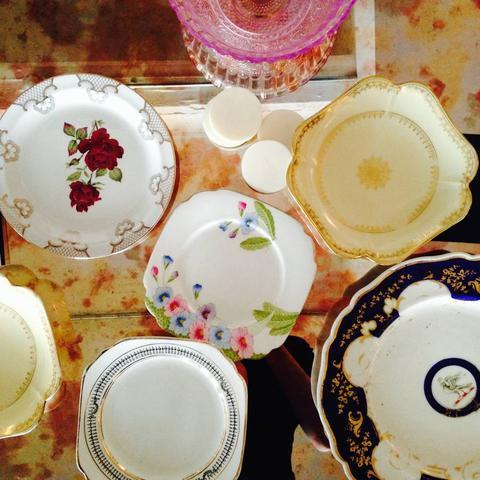 Divine Vintage Plate Upcycling