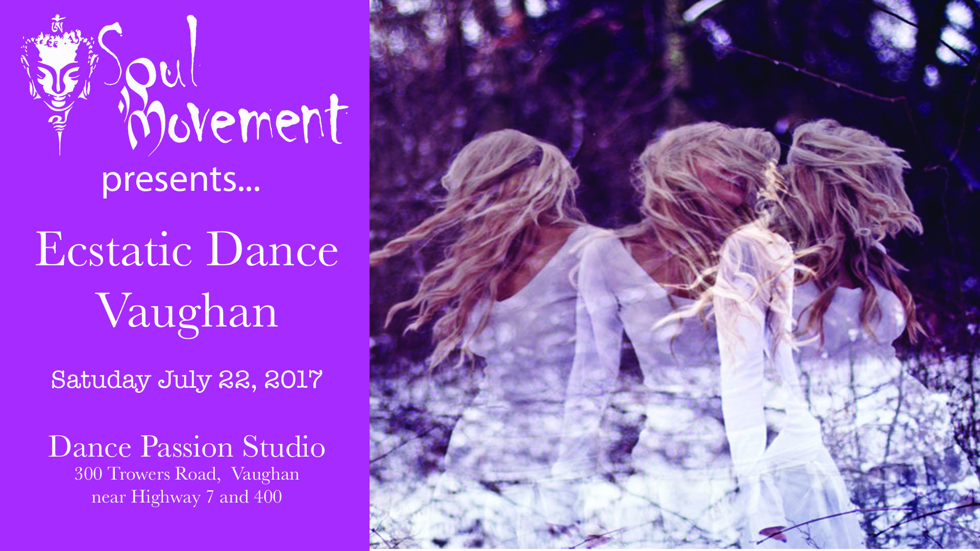 Soul Movement presents Ecstatic Dance Vaughan