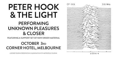 PETER HOOK & THE LIGHT (UK)