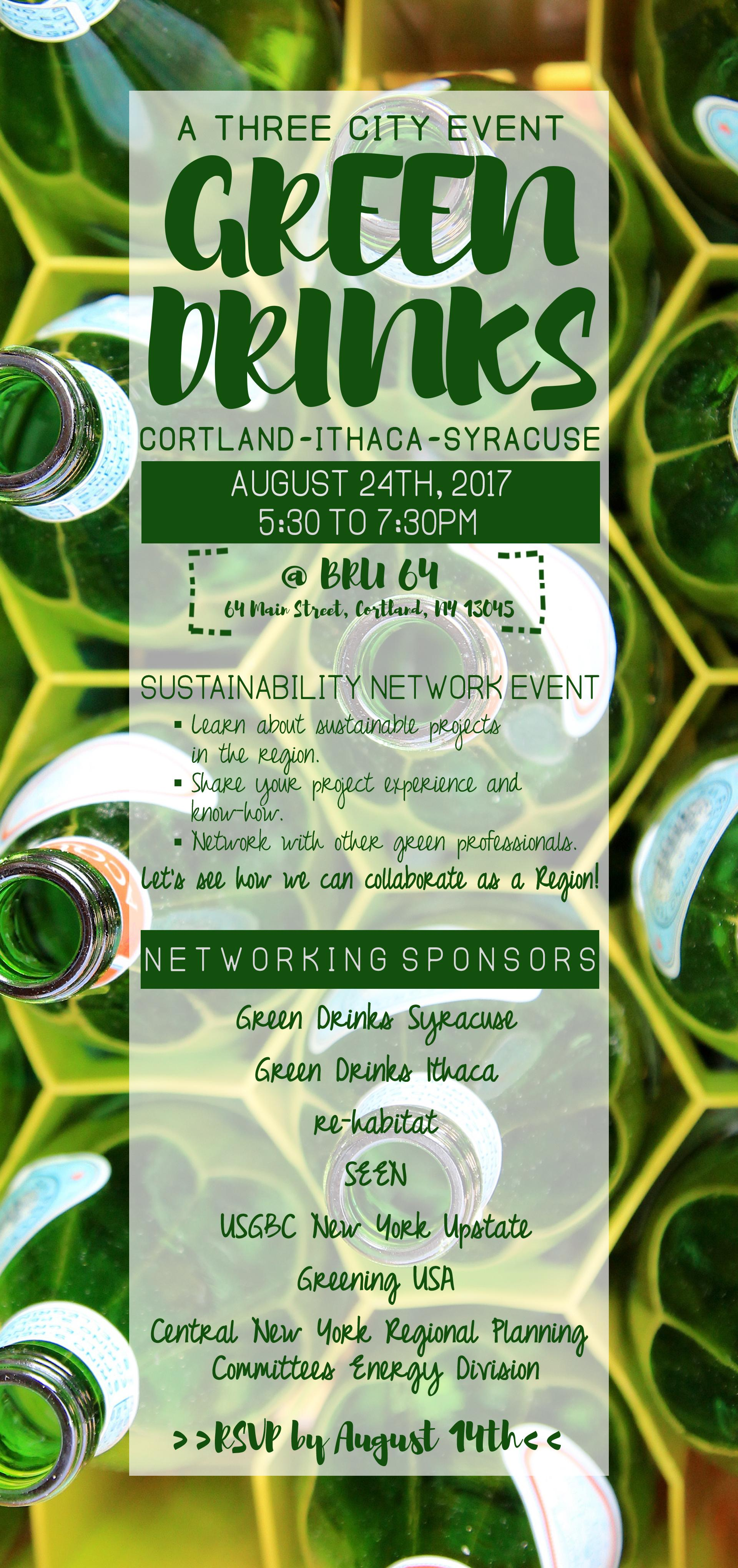 Three City Green Drinks Networking Event