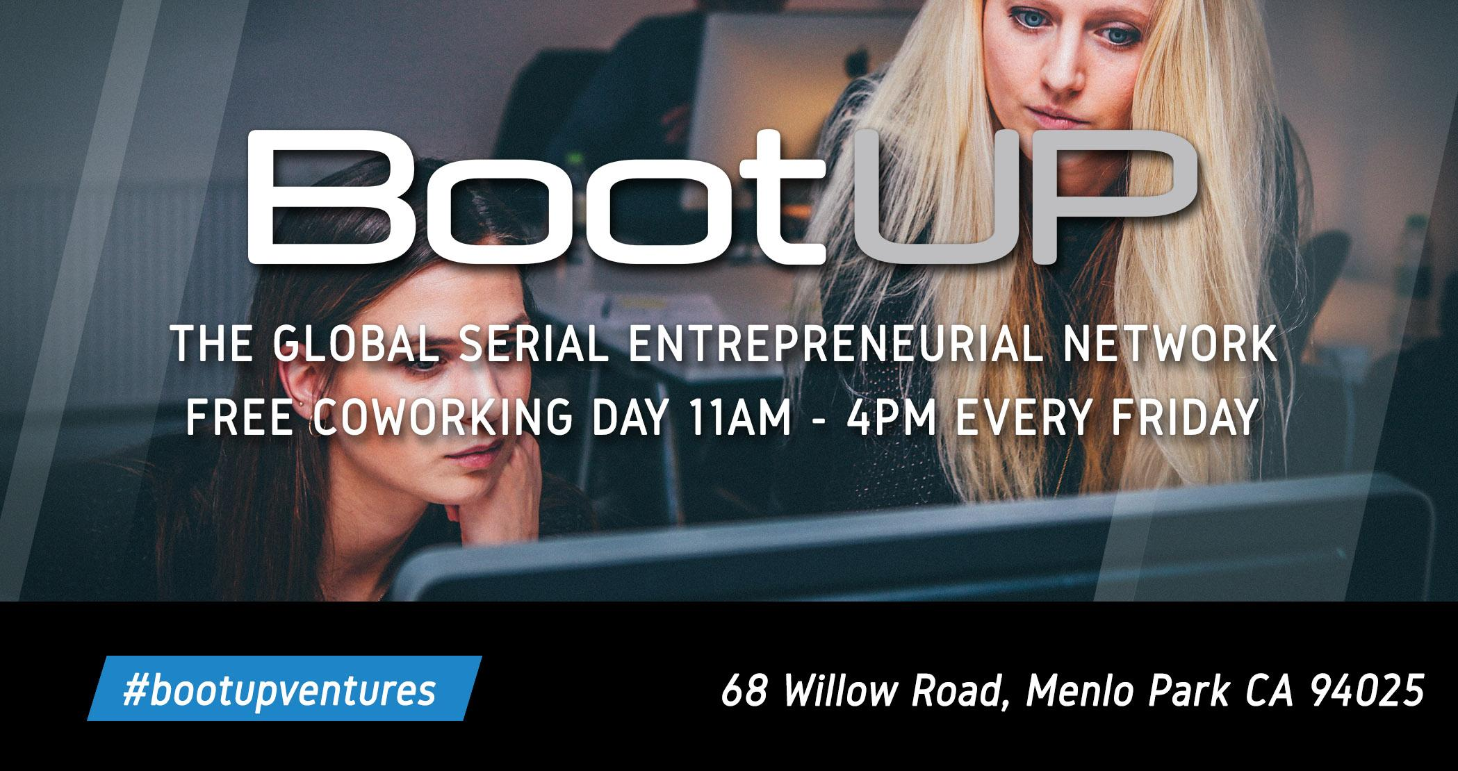BootUP Free Co-Working Day (Every Friday)