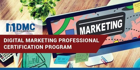 Digital Marketing Professional Certification Program tickets