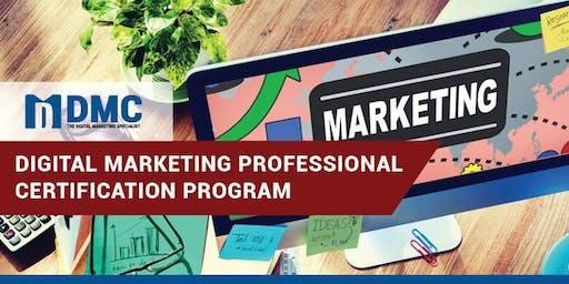 Digital Marketing Professional Certification Program