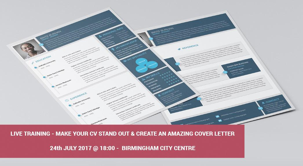 "LIVE Workshop ""Write a winning CV & Cover Let"