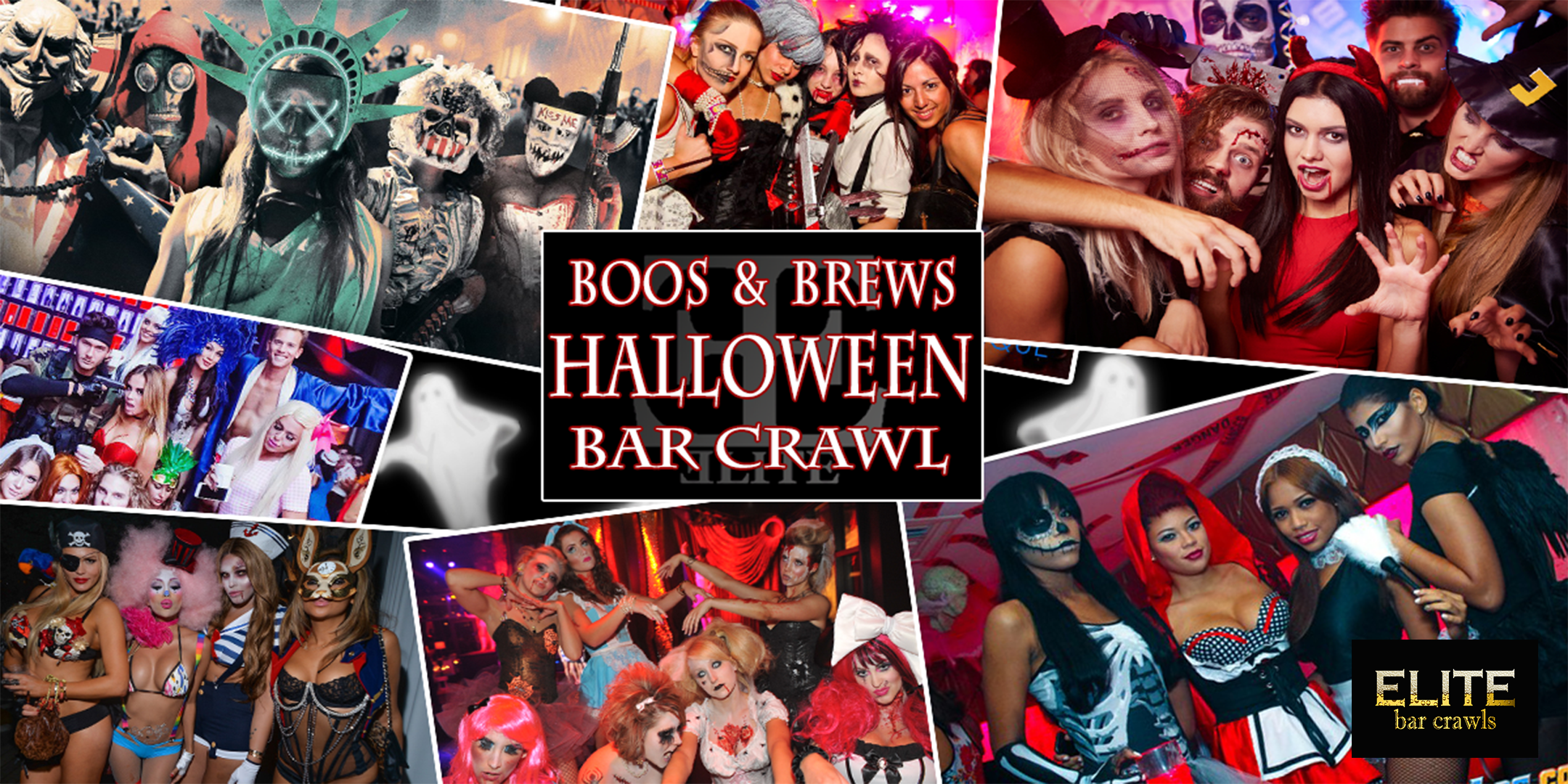 Halloween Bar Crawl -New York, NY