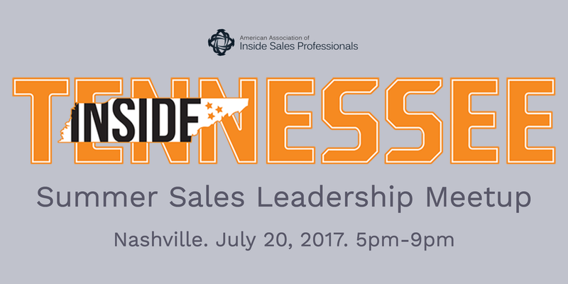 Tennessee Nashville Sales Leadership Meetup