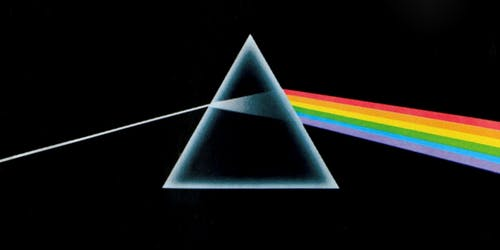 Dark Side of the Moon Aerial Show