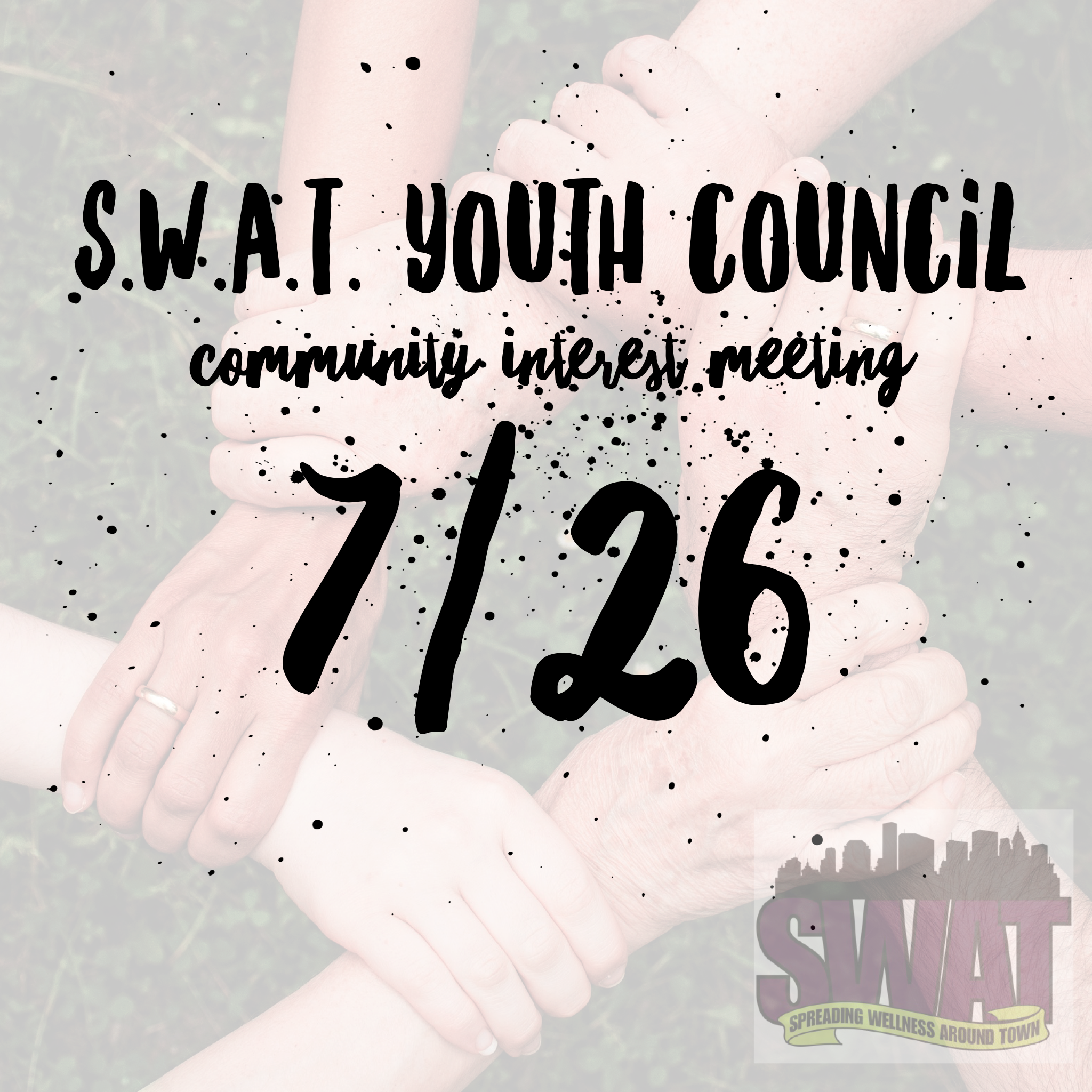 S.W.A.T Youth Council Community Interest Meet