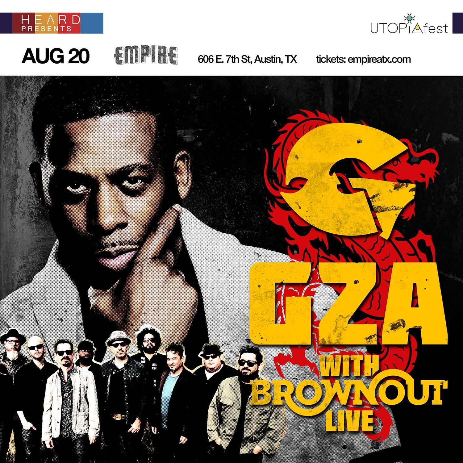 GZA x Brownout LIVE with Blastfamous USA