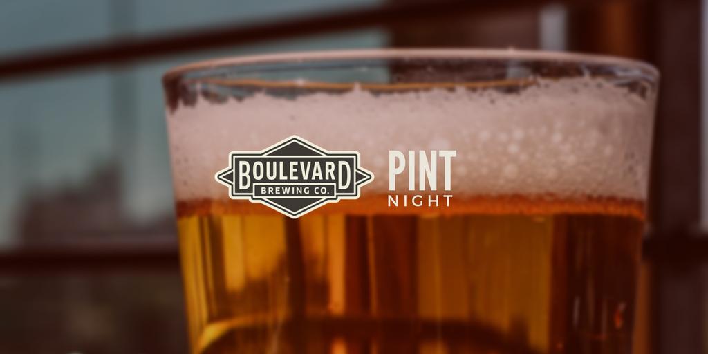 Boulevard Pint Night at Ale House. Boulevard Pint Night at Ale House
