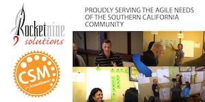 Weekend Scrum Master Training (CSM) Orange County, Nov...
