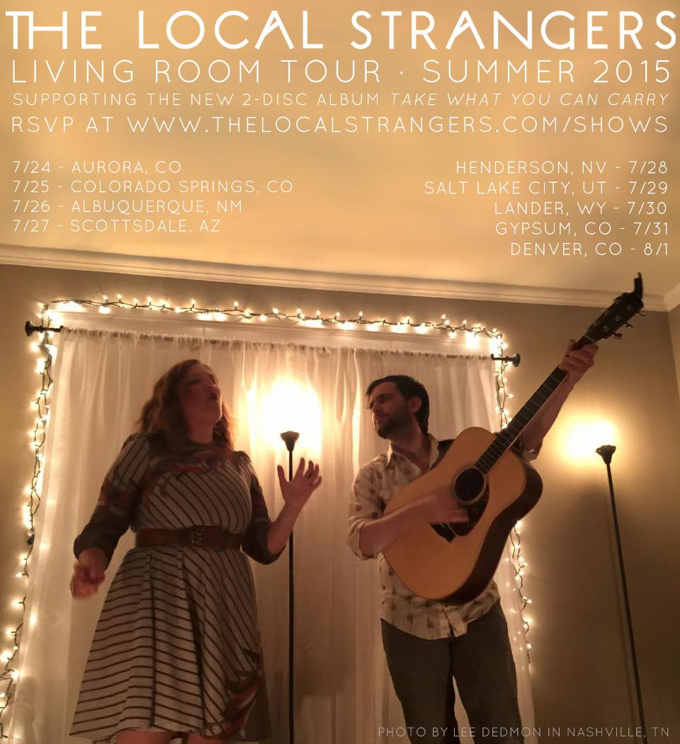 Chapel Hill, NC - The Local Strangers Living Room Tour