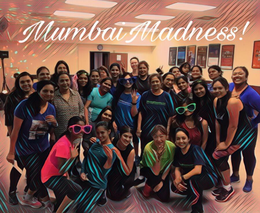 Mumbai Madness ZumBolly at The District at Tu