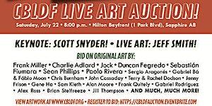 CBLDF Comic-Con Art Auction, Presented by IDW, Splash...