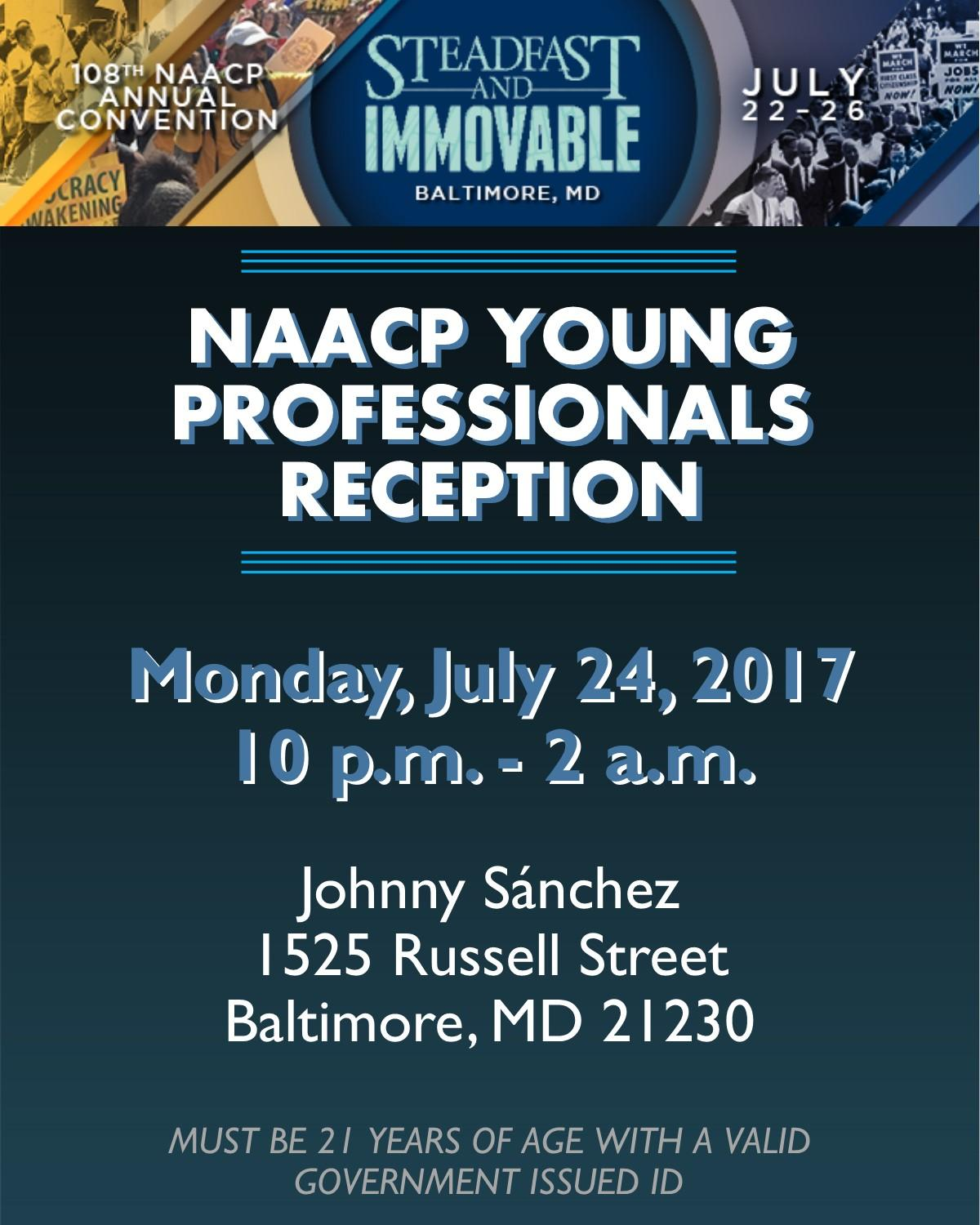 NAACP Young Professionals Reception