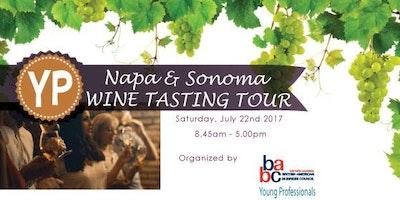 BABC Napa and Sonoma Valley Wine Tasting Tour