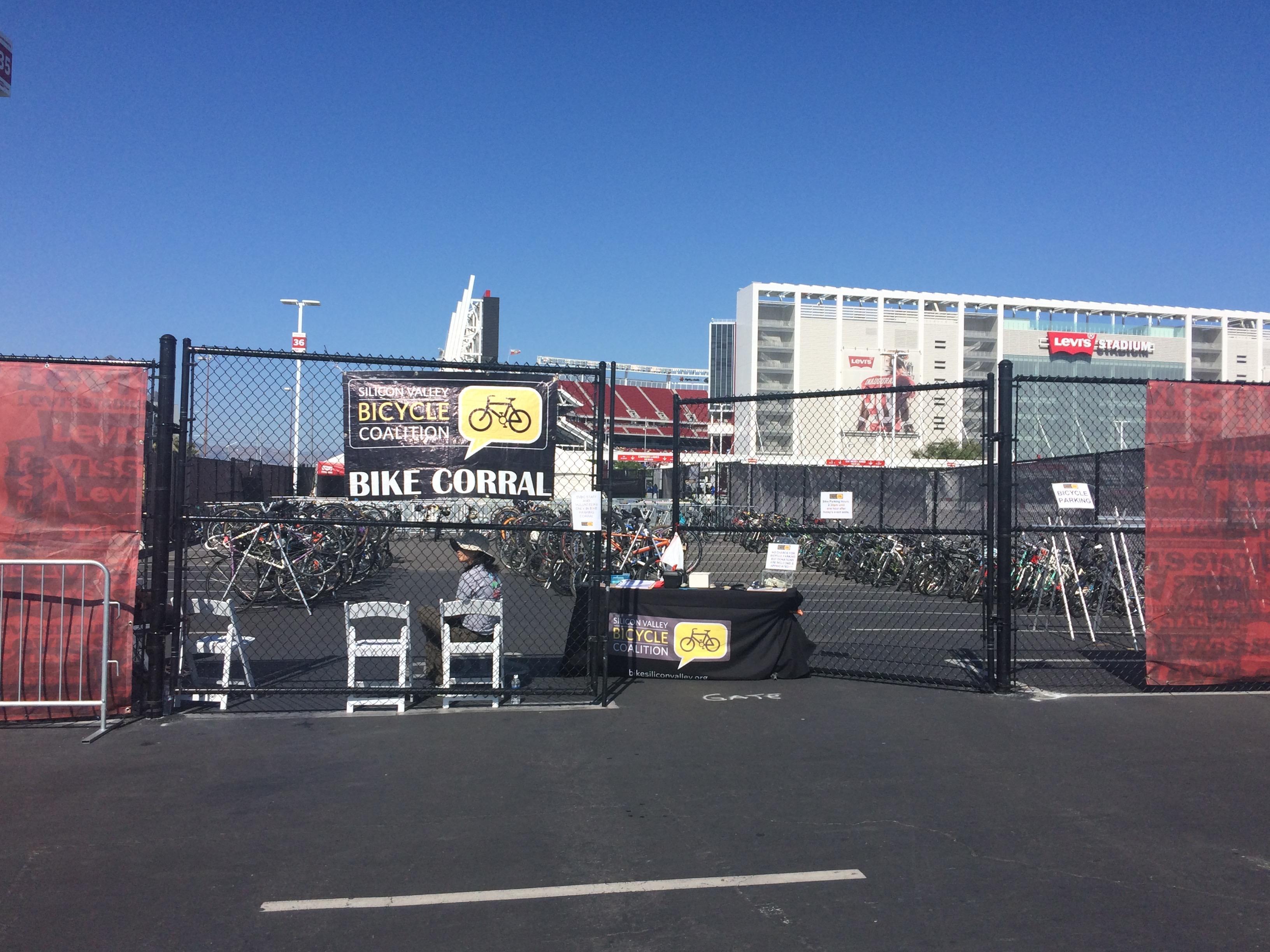 Volunteer for Bike Parking at Levi's Stadium