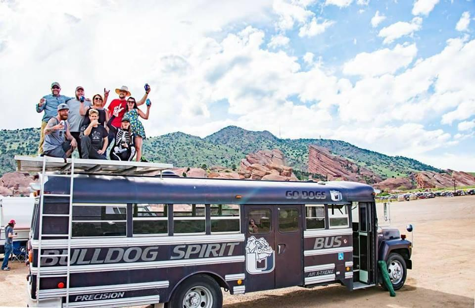 Bulldog Shuttle to String Cheese Incident at