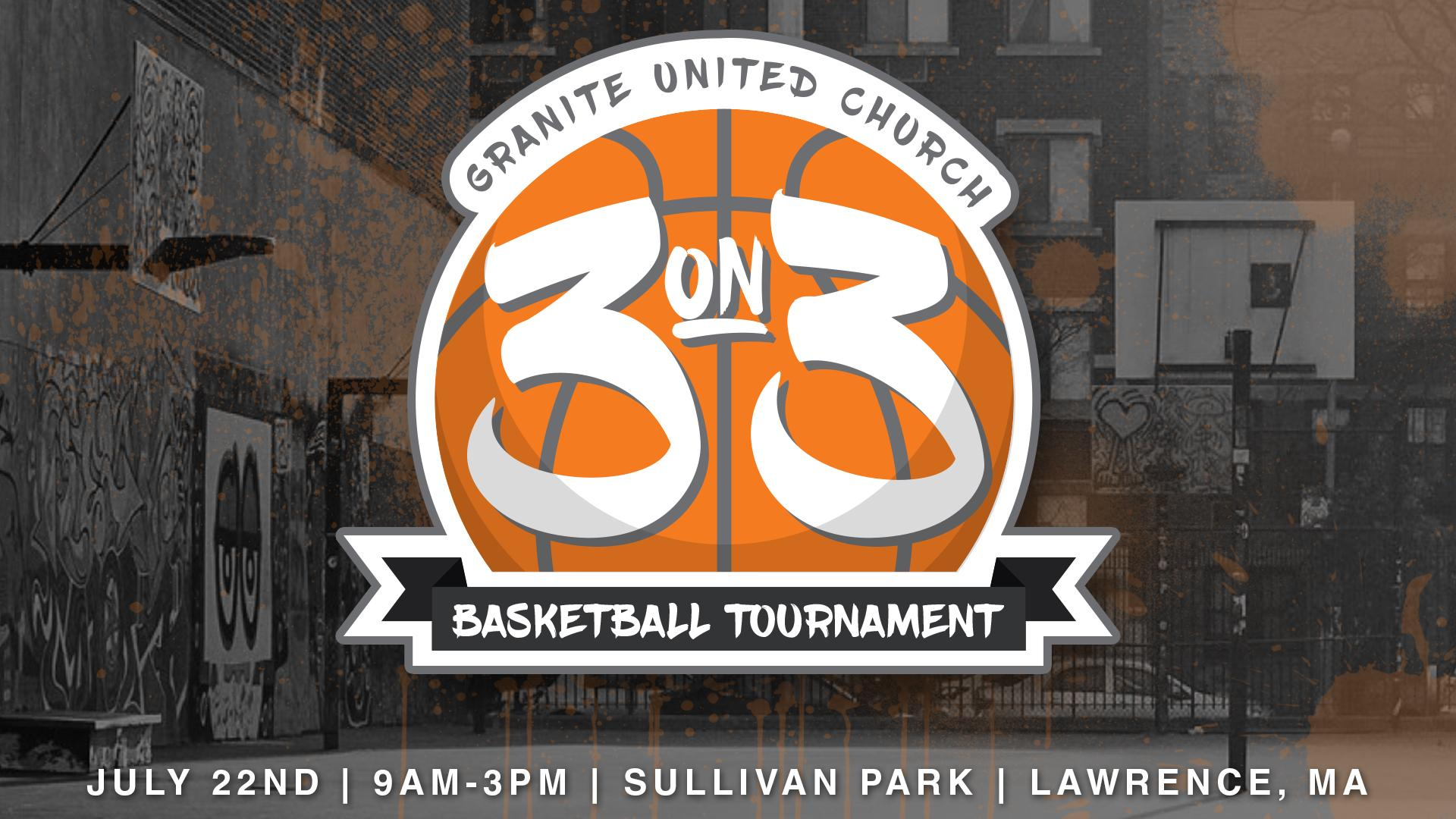 Volunteers: 3 on 3 Basketball Tournament