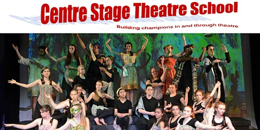 Senior Music Theatre Production - ages 12 - Adult - Tuesdays  7:05-8:15 p.m - Fall/Winter, 2019/20