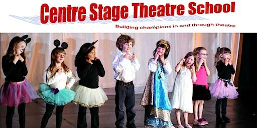 Drama Kids - ages 4-6 -Tuesdays 6:00-6:45 p.m. - Fall/Winter, 2019/2020