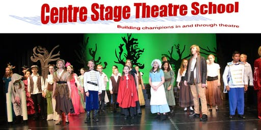 Intermediate Music Theatre Production (Mondays)- ages 10-12 -  FALL 2019 /20