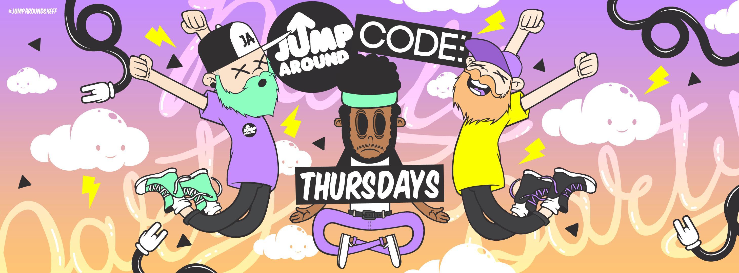Jump Around at CODE: