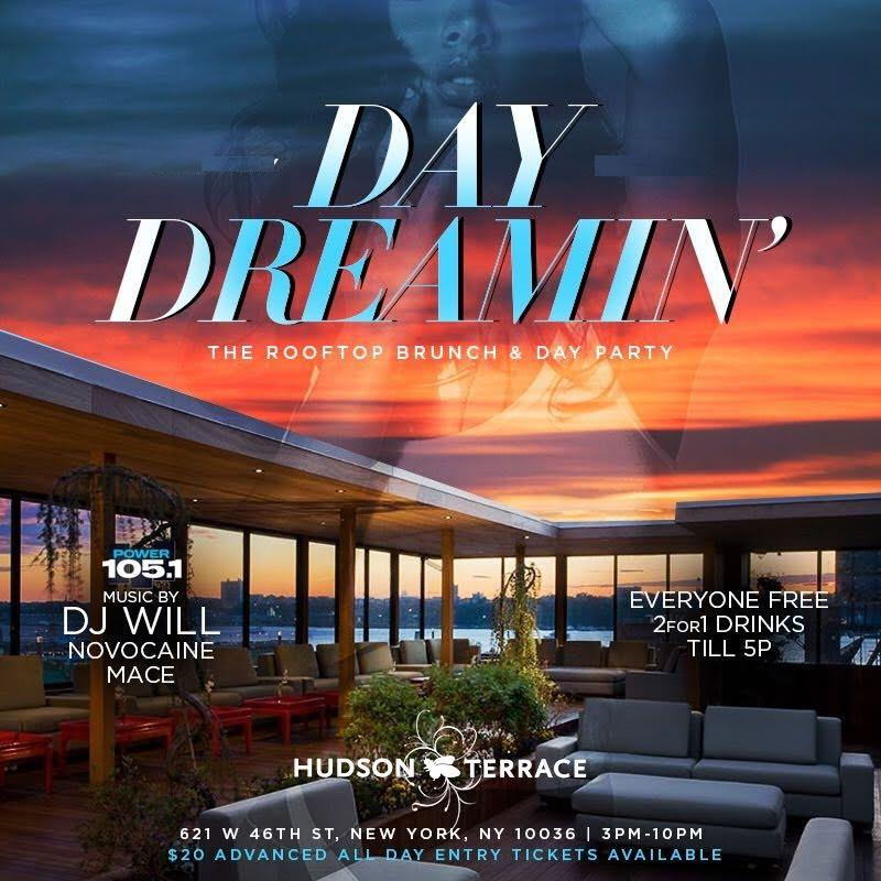 TD Group Presents: Day Dreamin Rooftop Brunch