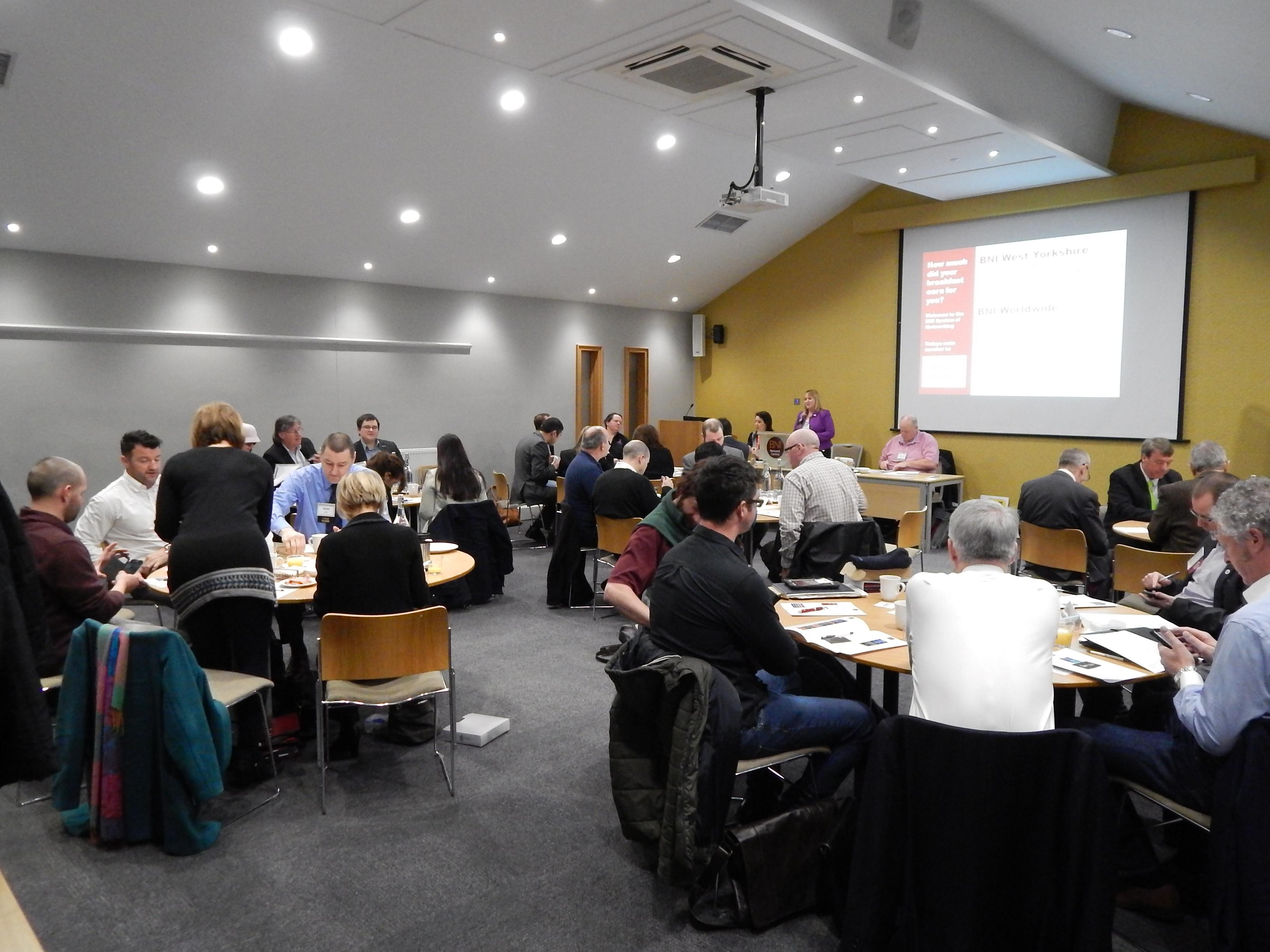 Business Networking at Network Central Leeds