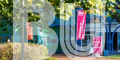 Bournemouth University Postgraduate Open Day