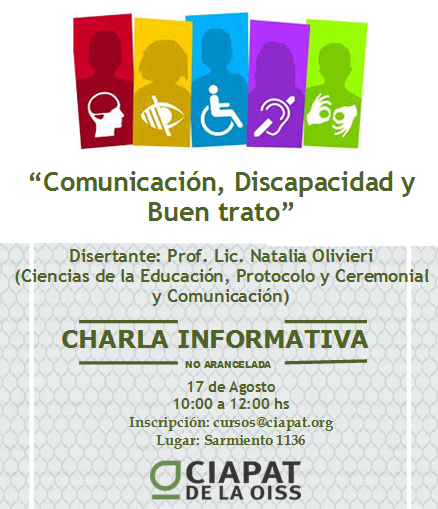 Comunicación, Buen trato y Discapacidad