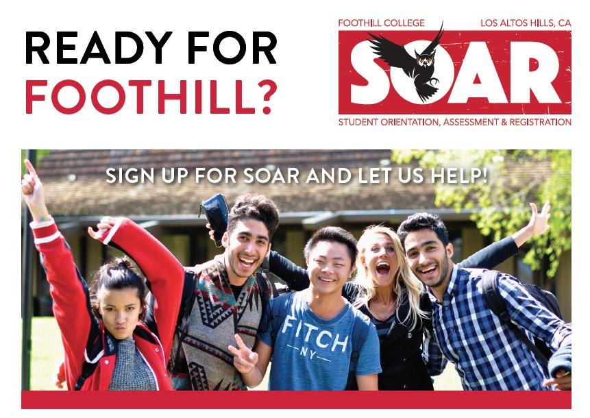Foothill College SOAR: Receive Priority Regis