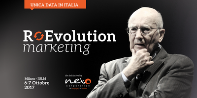 Philip Kotler Marketing Forum Italy 2017 - Promo Esclusiva PROXIMITY