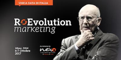 Philip Kotler Marketing Forum Italy 2017 - Promo Esclusiva PROXIMITY