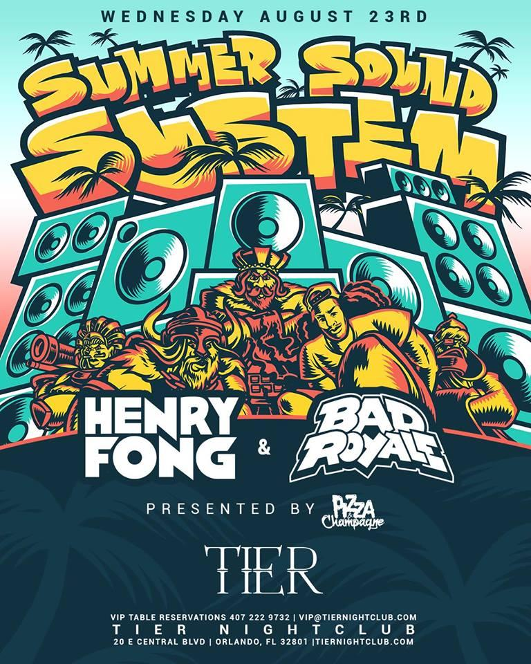 Pizza & Champagne w/ Henry Fong & Bad Royale. Pizza & Champagne w/ Henry Fong & Bad Royale