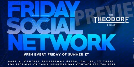 The New #FridaySocialNetwork •Music•Chic-Dining •Member-Mental-Enrichment tickets