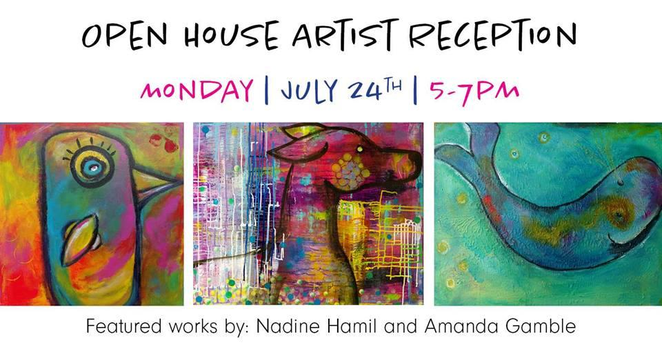 Open House Artist Reception | Meet Nadine Ham