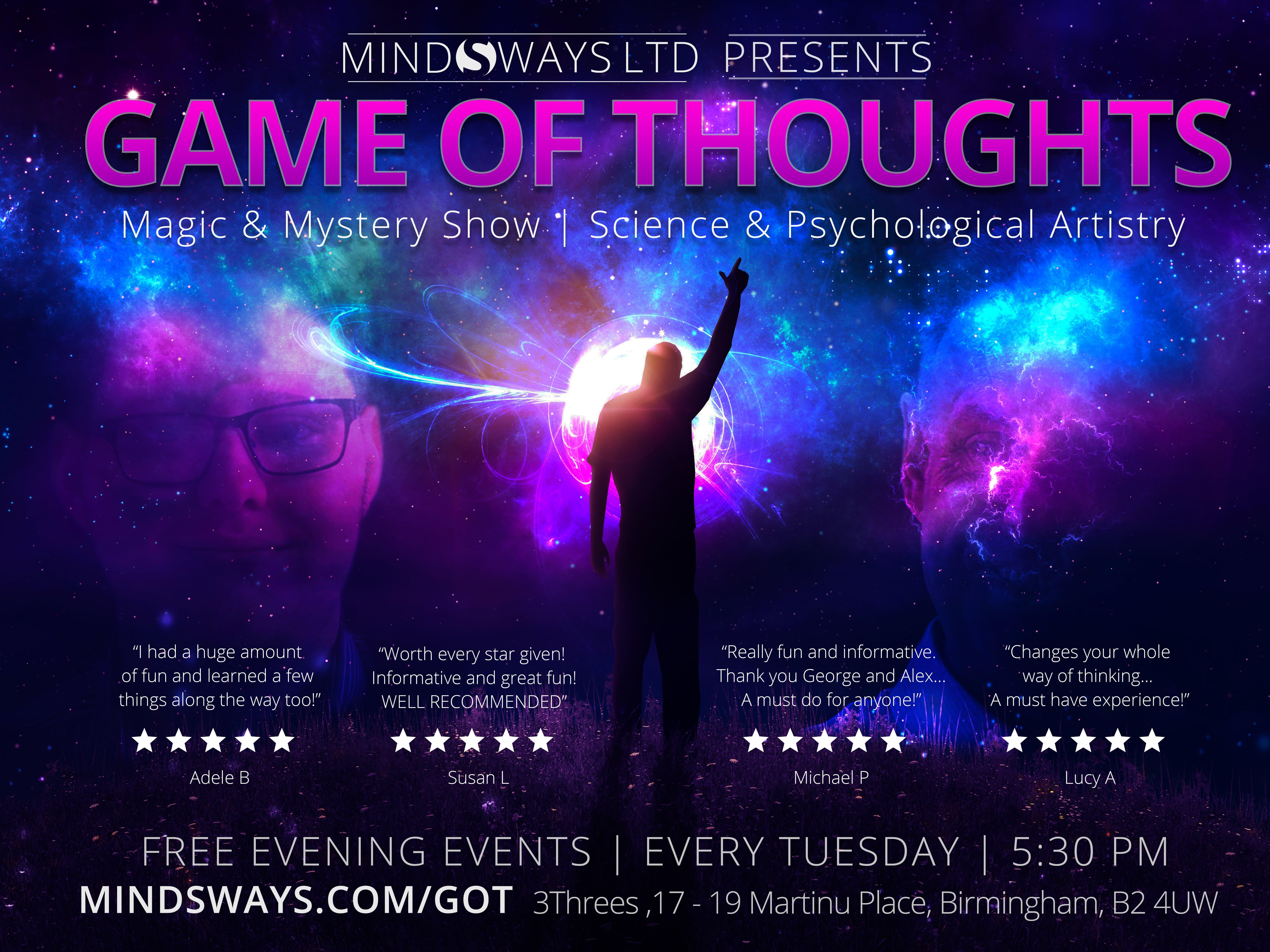 Game of Thoughts - Free Evening Event
