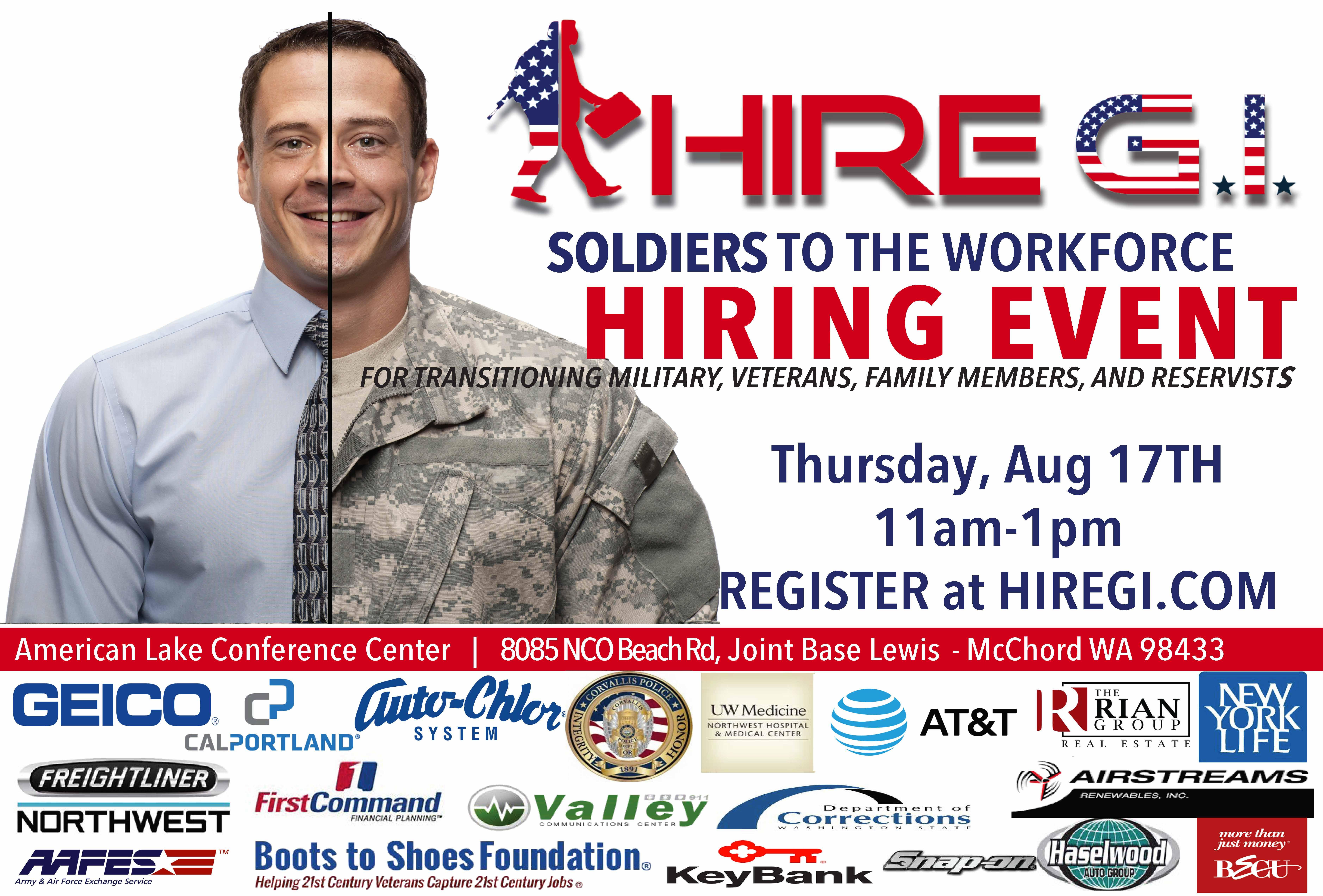 Soldiers & Spouses to the Work Force Career F