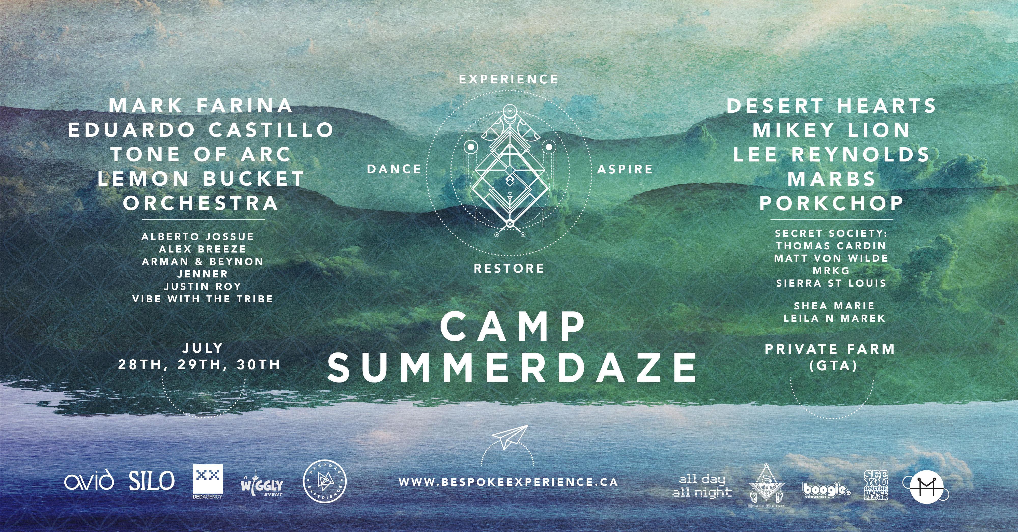 Camp Summerdaze 2017