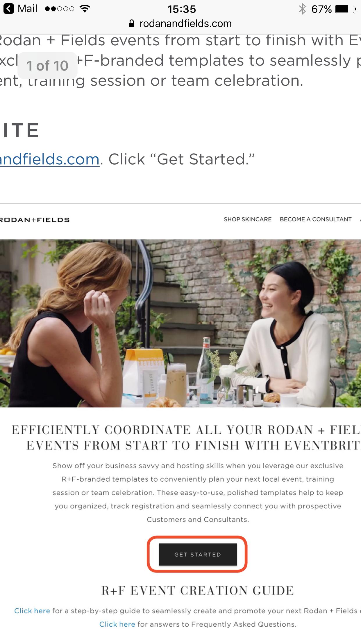 Rodan + Fields® Business Presentation Event F