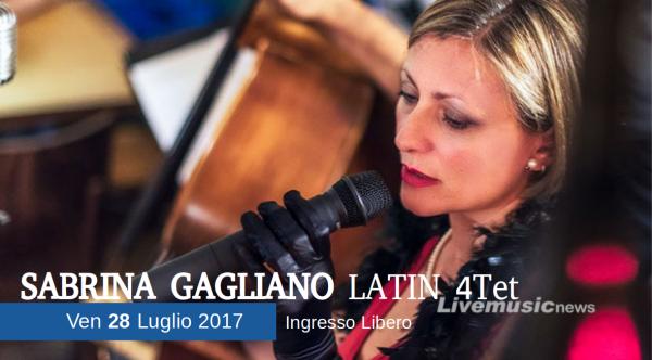 Sabrina Gagliano Latin 4tet ad O Live Summer
