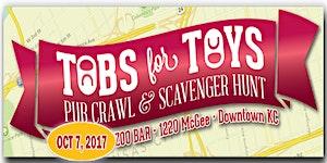 Tabs For Toys Pub Crawl & Scavenger Hunt  2017
